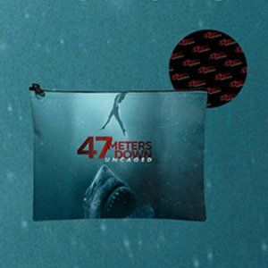 Handbags - New! 47 Meters Down Uncaged Movie Zippered Pouch